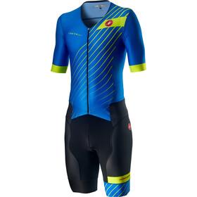 Castelli Free Sanremo 2 SS Suit Men drive blue